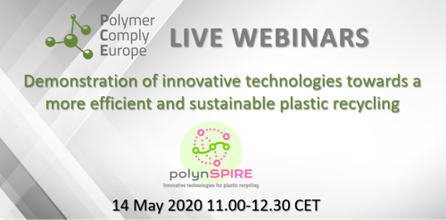 Demonstration of innovative technologies towards a more efficient and sustainable plastic recycling - polynSPIRE