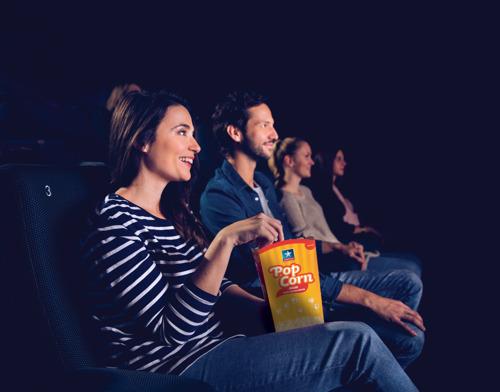 Première européenne : acheter des billets de cinéma Kinepolis depuis KBC Mobile et K'Ching.