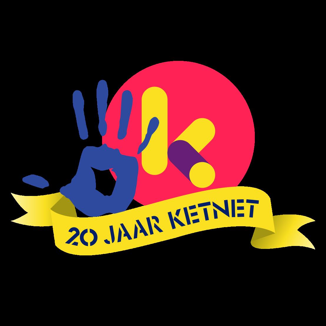Logo 20 jaar Ketnet
