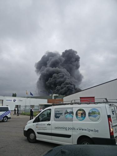 Brand onder controle bij LPW Ceramic Pools