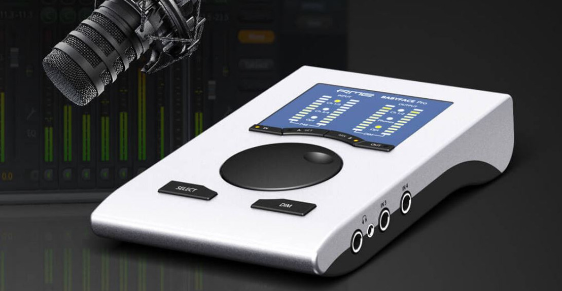 RME Rolls Out Babyface Pro Podcasting Bundle Designed to Improve Podcasters' Audio Setups