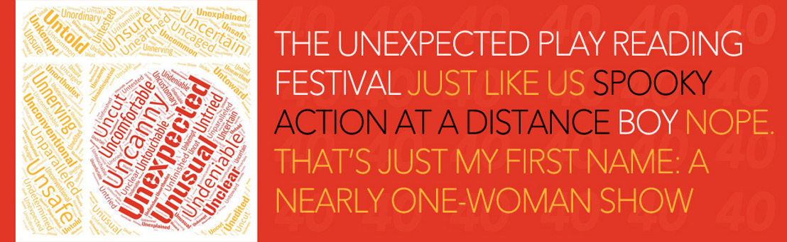 Industry & Student Tickets to Theatrical Outfit's THE UNEXPECTED PLAY READING FESTIVAL