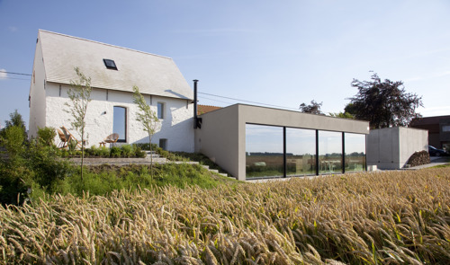 Réportage: Maison de digue à Watervliet en Belgique