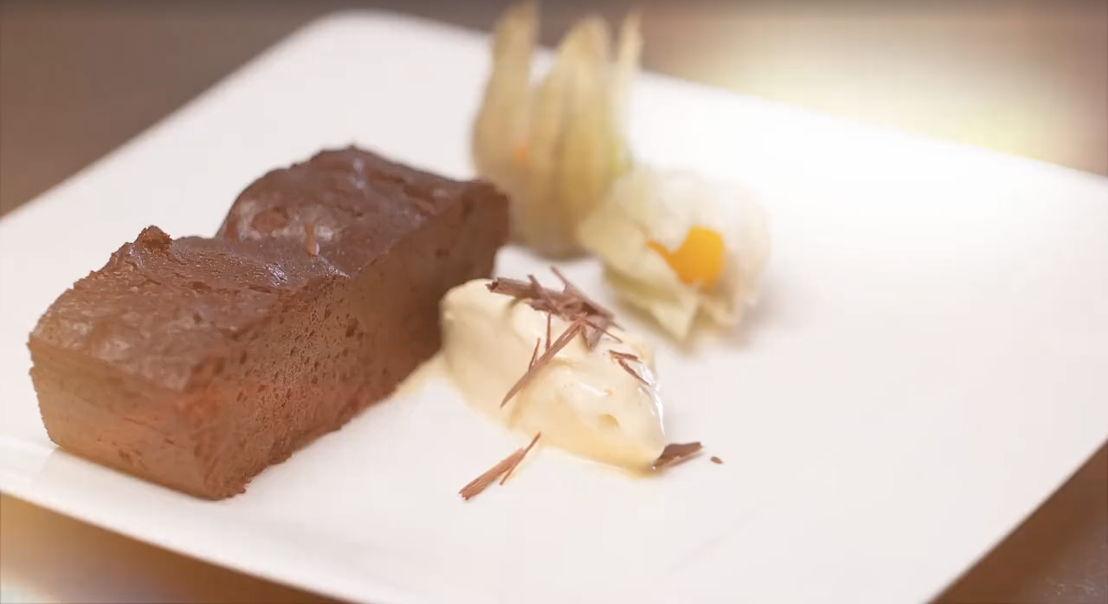 Gâteau au chocolat. Recette Miele