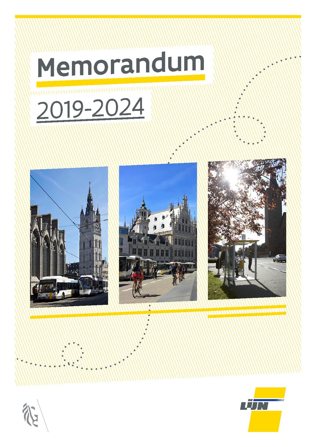 De Lijn maakt aanbevelingen aan volgende regering over in Memorandum 2019-2024