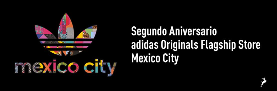adidas Originals Flagship Store Mexico City celebra su Segundo Aniversario con comida, arte y sneakers