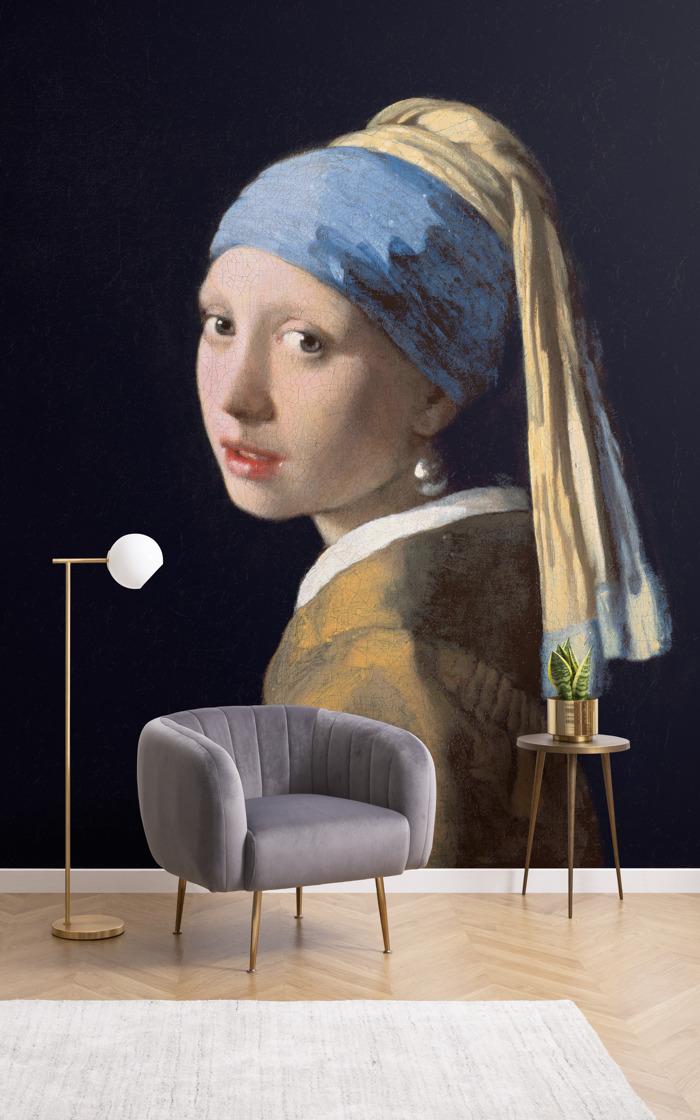 Obras de arte desde las galerías de todo el mundo en una colección de papeles pintados para crear un museo en tu casa