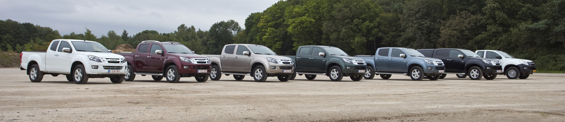 Isuzu D-Max archive photos