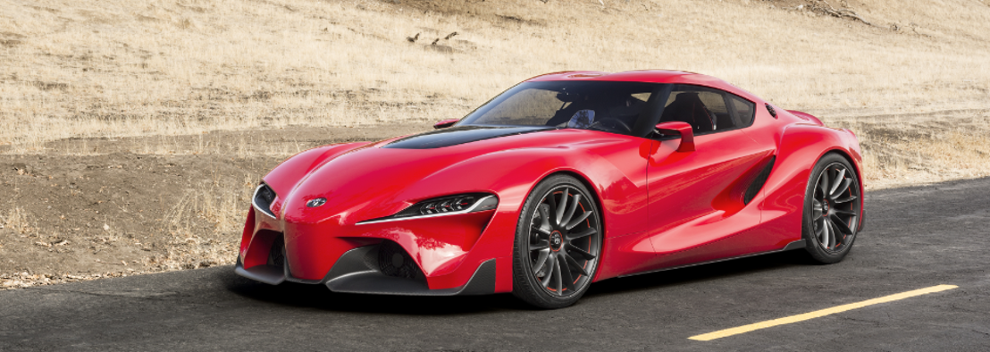 Daring Toyota Coupe Concept Debuts at 2014 Detroit Show