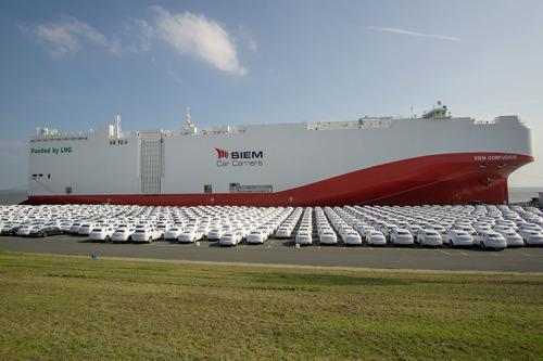 Mise en service du premier cargo alimenté au LNG à faibles émissions pour le Groupe Volkswagen (traduction)