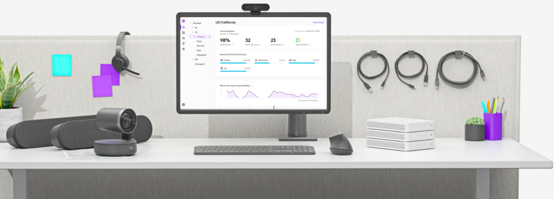 Logitech marca un nuevo estándar en la industria de la videoconferencia