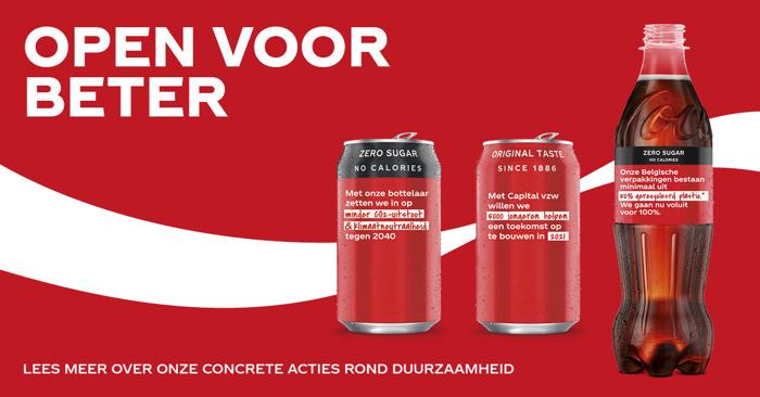 Samen voor een beter 2021: Coca-Cola verspreidt hoop en goede voornemens op blikjes en flesjes