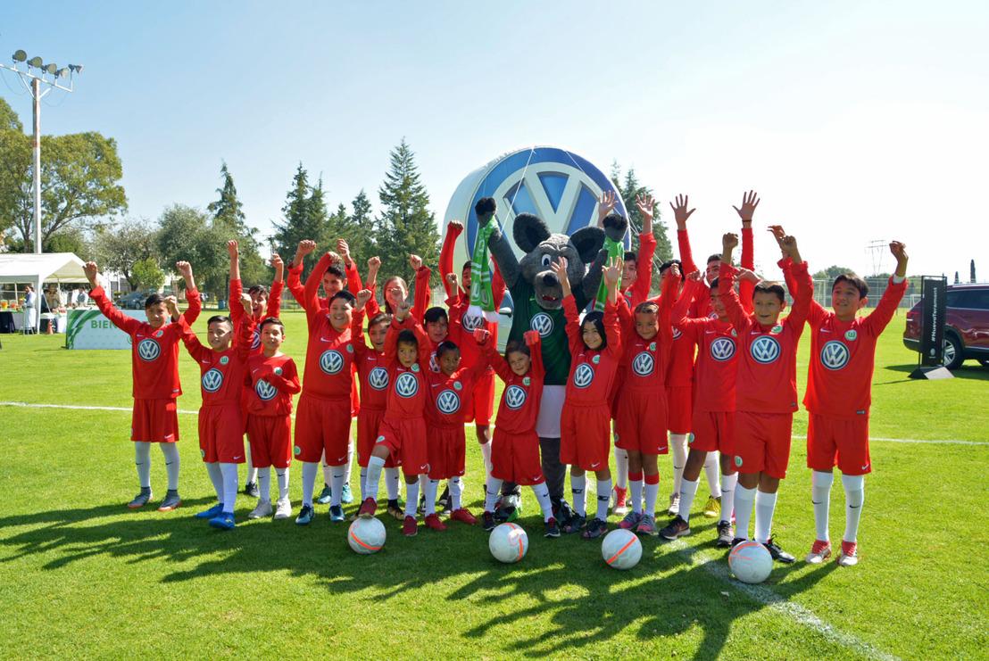 Volkswagen de México y el VfL Wolfsburg presentan el Centro de formación VfL Wolfsburg Puebla