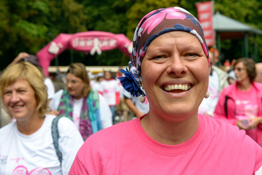 Bruxelles marche et court contre le cancer du sein