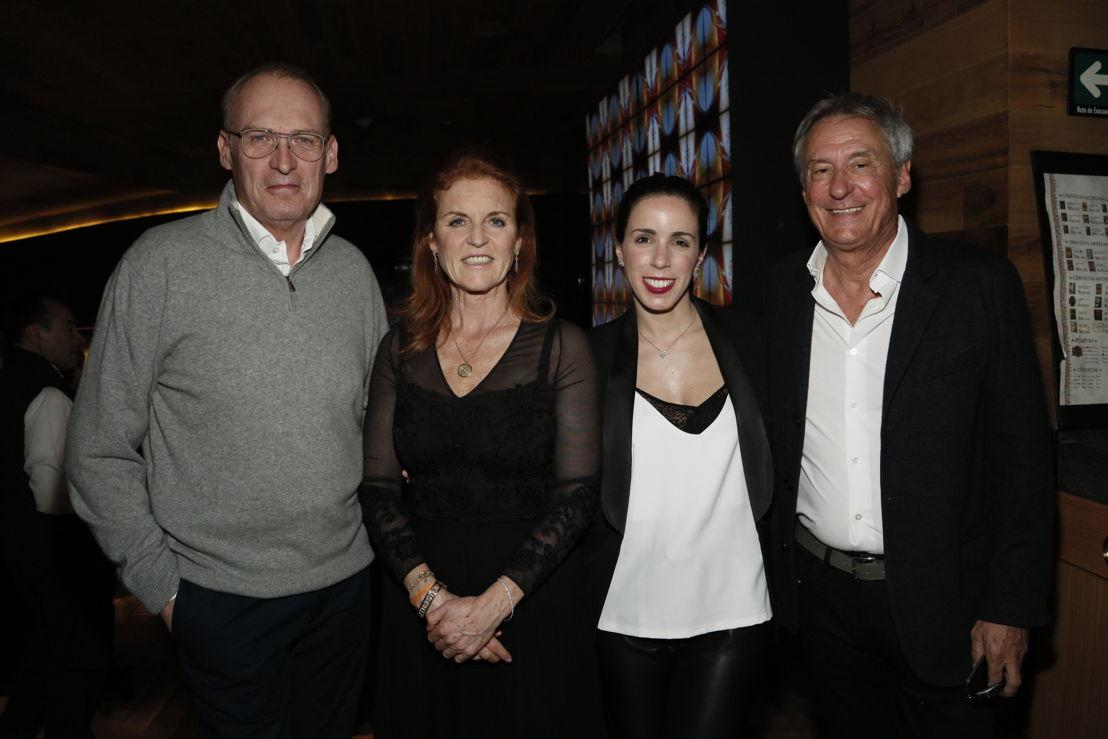 Charles Walsh, Sarah Ferguson, Natalia Agag, Peter Red