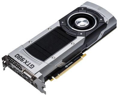 NVIDIA GeForce GTX 980 Oberfläche