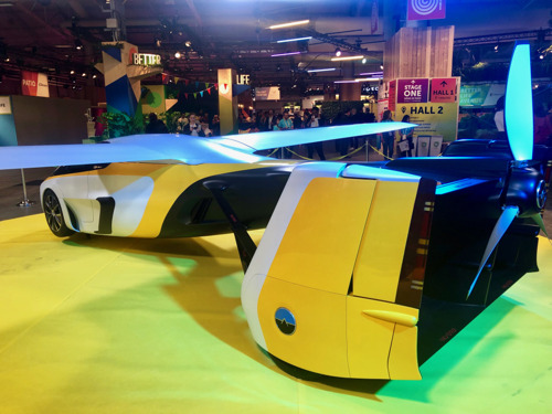 Preview: AeroMobil attended Viva Technology 2019 the world's rendezvous for startups and leaders in Paris