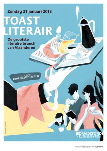 Grootste literaire brunch van Vlaanderen en Brussel in aantocht