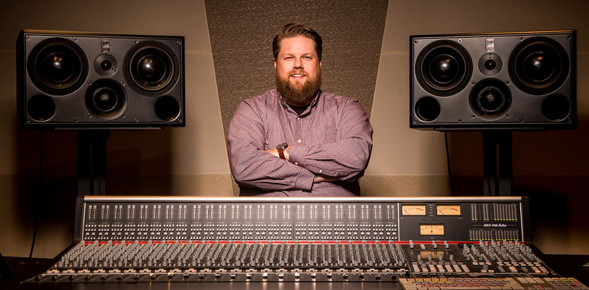 Sweetwater Studios' Producer/Engineer Shawn Dealey