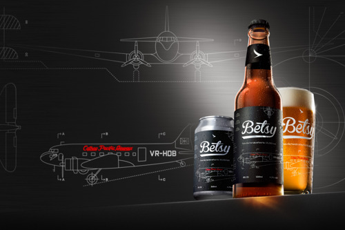 Betsy Beer is Back! New pale ale is launched for 35,000 ft