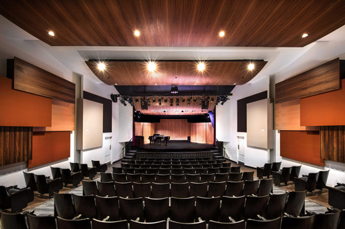 UCLA'S Herb Alpert School of Music Debuts Combined Performance/Educational Theater Designed by WSDG