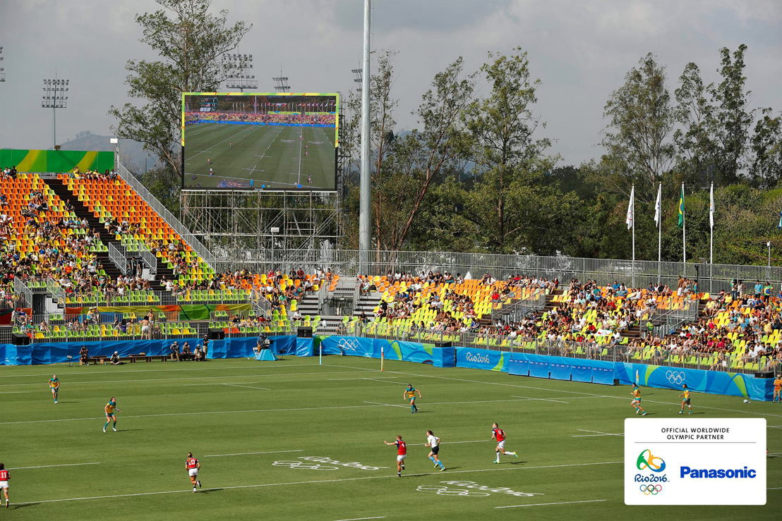 Panasonic @ JJOO Rio 2016 Pantallas LED en Estadio Rugby