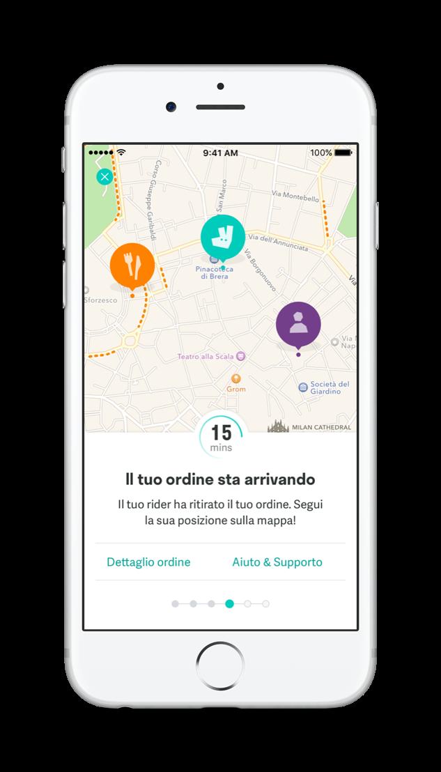 Deliveroo App - 2