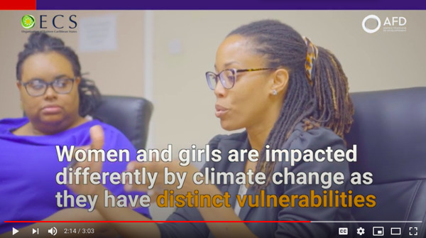 Preview: OECS Commission launches Video on Building Resilience with Nature and Gender to Mark International Day for Biological Diversity 2020