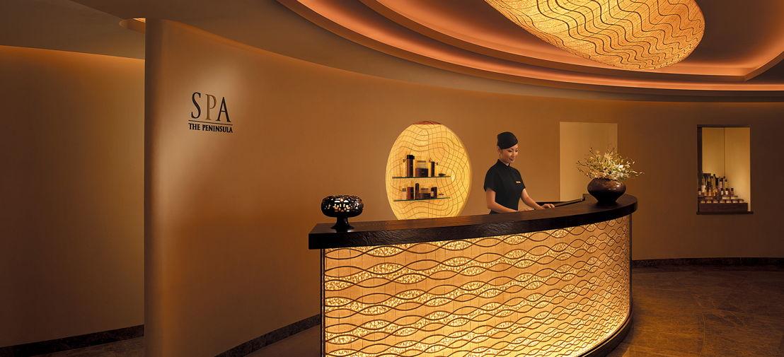 The Peninsula Tokyo Spa Reception