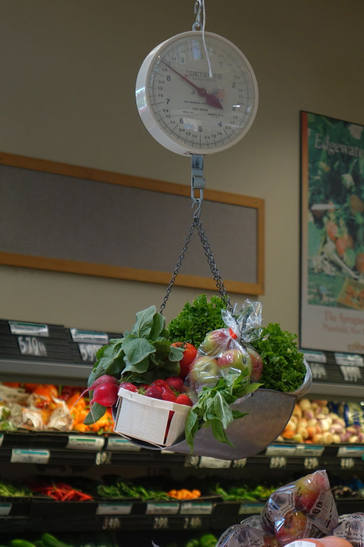 The wide array of local fruits and vegetables at the Hanover Co-op Food Stores make the Double Up Food Bucks program especially appealing to recipients and program supporters.