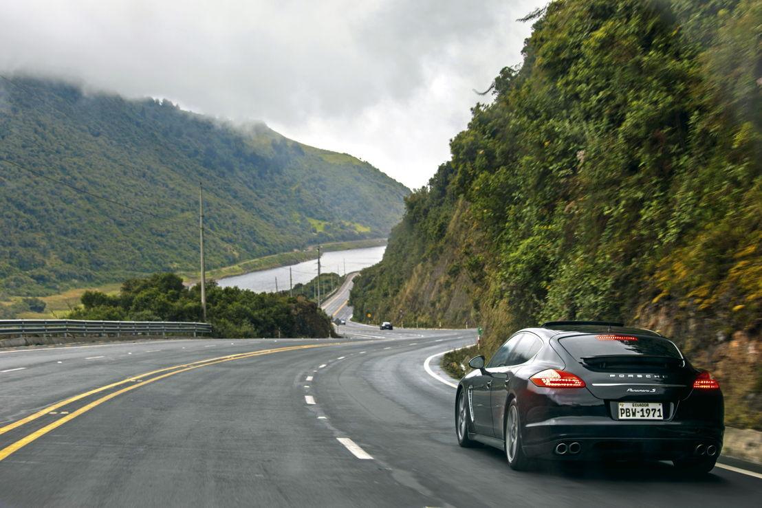 Porsche Panamera S en Ecuador