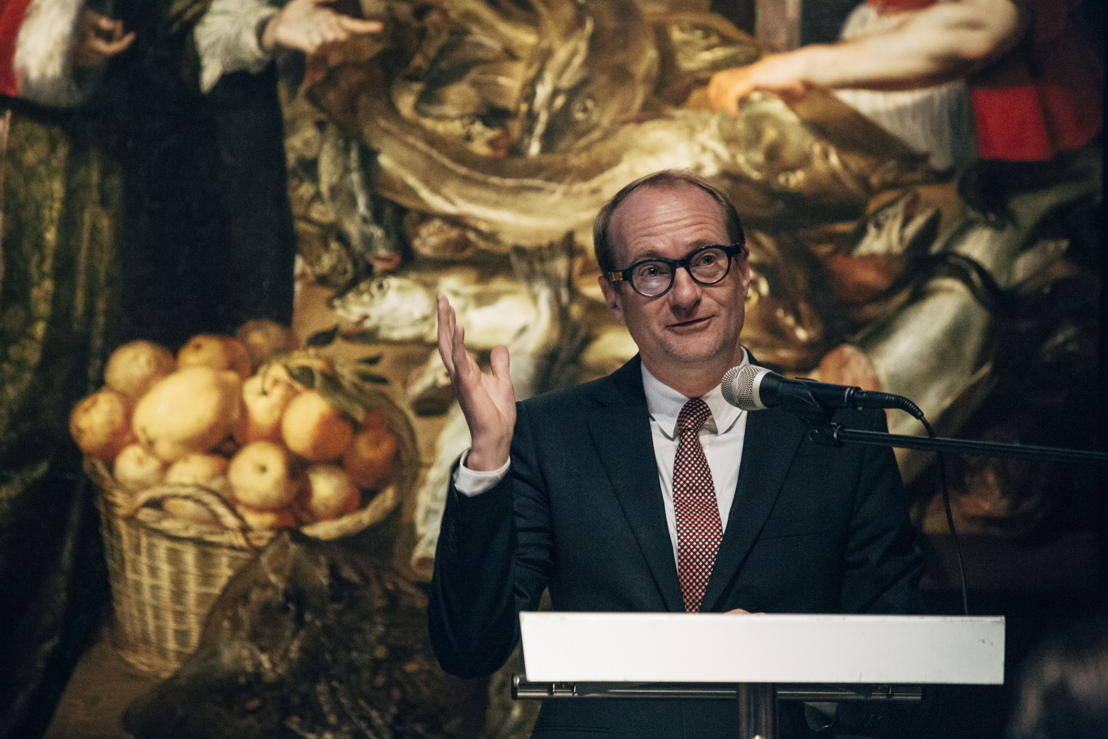Ben Weyts, Vlaams minister voor Toerisme. Photo: Joris Casaer