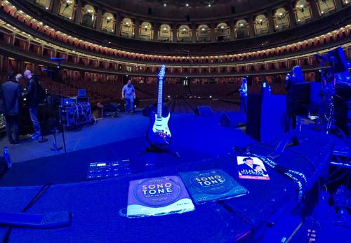 Camilo Velandia Trusts SonoTone Premium Strings to Deliver Onstage at Royal Albert Hall