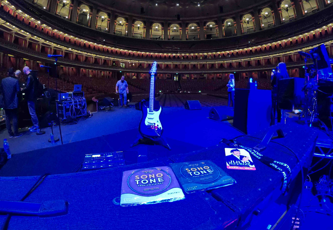 Camilo Velandia Trusts SonoTone Premium Strings to Deliver Onstage at Royal Albert Hall