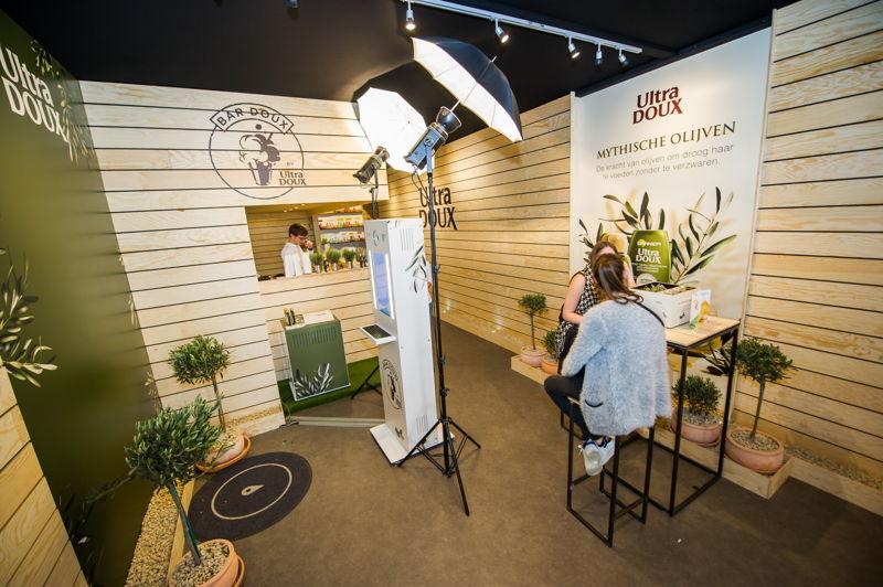 Studio photo Garnier Ultra Doux