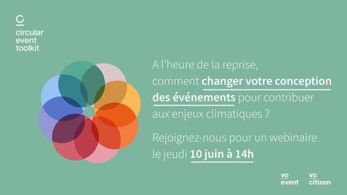A l'heure de la reprise, comment changer votre conception des événements pour contribuer aux enjeux climatiques ?