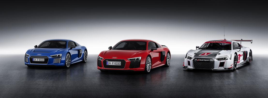 Audi R8 - Audi R8 V10 plus - Audi R8 LMS