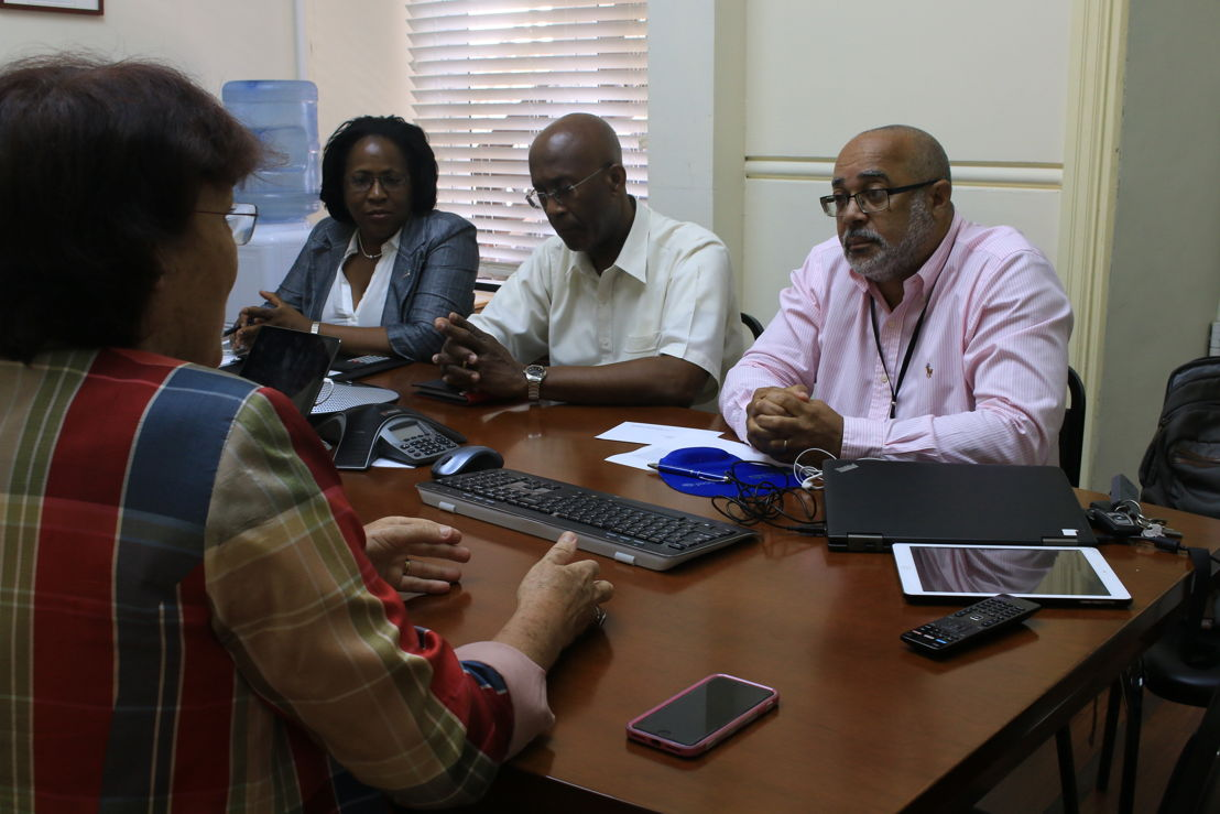 New-Zealand High Commissioner Her Excellency Mrs Jan Henderson pays farewell visit to the OECS Commission