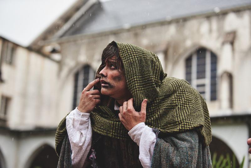 Hunchback of Notre Dame - Haden Rider as Quasimodo (photo credit Chris Bartelski)