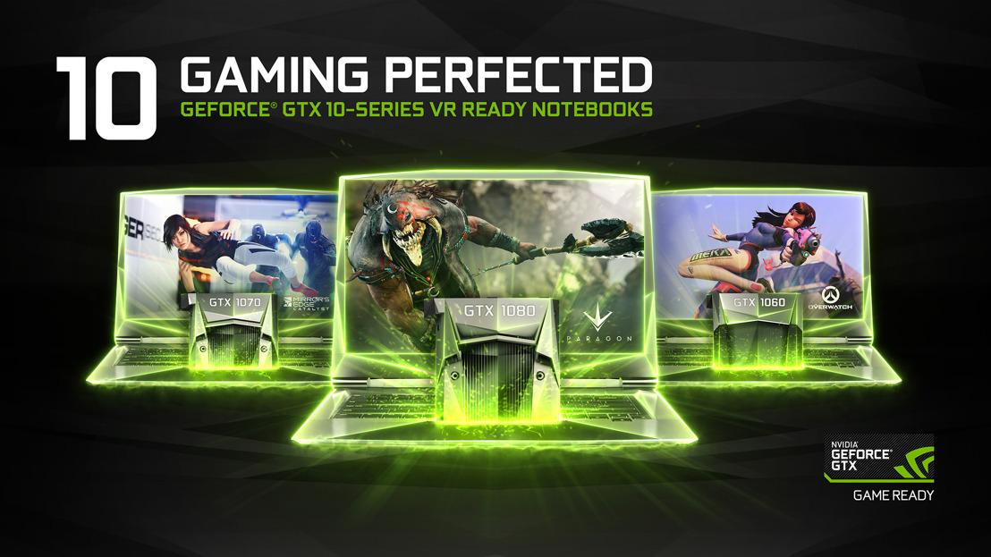 Ein Quantensprung für Notebooks: NVIDIAs GeForce-GTX-10-Serie halten Einzug in die am schnellsten wachsende Gaming-Plattform