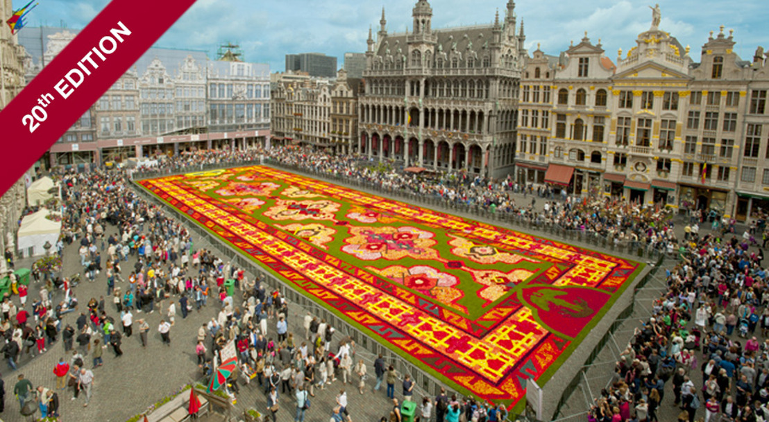 Save the date, from 13 to 15 August 2016 – A 20th Flower Carpet on the theme of Japan to celebrate 150 years of Belgo-Japanese friendship!