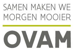 Logo OVAM, gepriviligeerd partner Henry van de Velde OVAM Ecodesign PRO Award