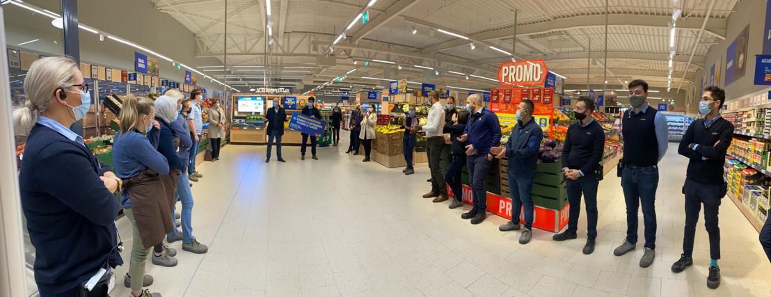 Lidl test gloednieuw winkelconcept in Lokeren uit
