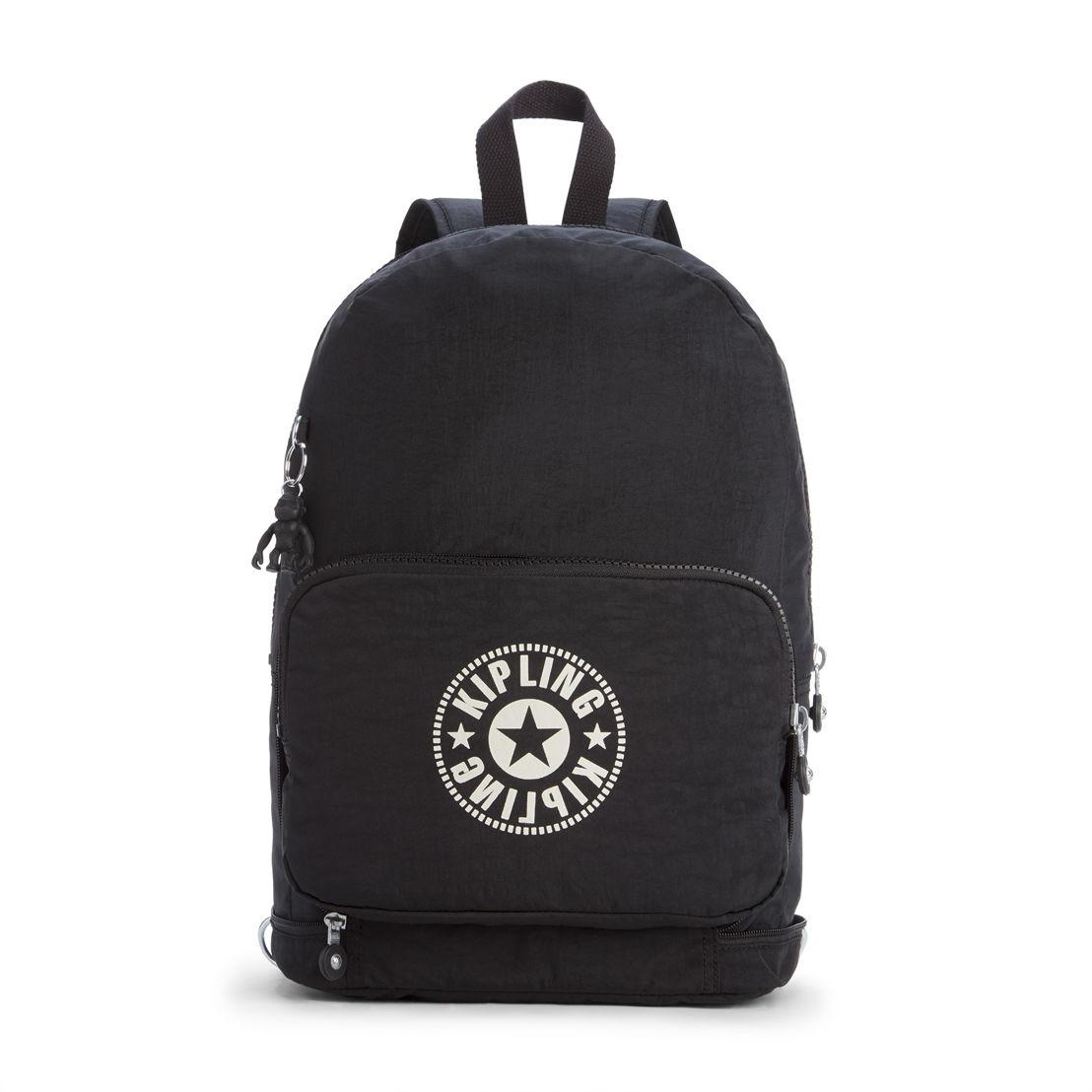 CLASSIC NIMAN FOLD Lively Black - 74.90€ (unfolded - backpack)