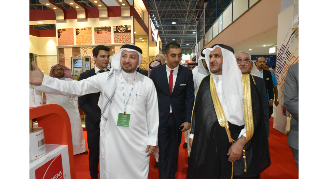 Zeyad Bin Bassam Mohammed Al Bassam, Vice Chairman of Jeddah Chamber of Commerce, visiting The Big 5 Saudi 2017