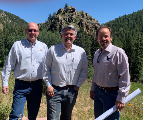 US Senator Cory Gardner Tours Black Hawk Trail System