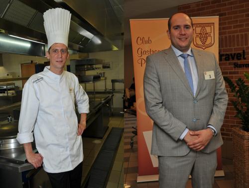 Ignace Wattenberge, sous-chef van restaurant Fleur de Lin is 'Eerste Kok van België 2018' en Paul-Henri Cuvelier uit Maarkedal is 'Eerste Maître d'Hôtel van België 2018'