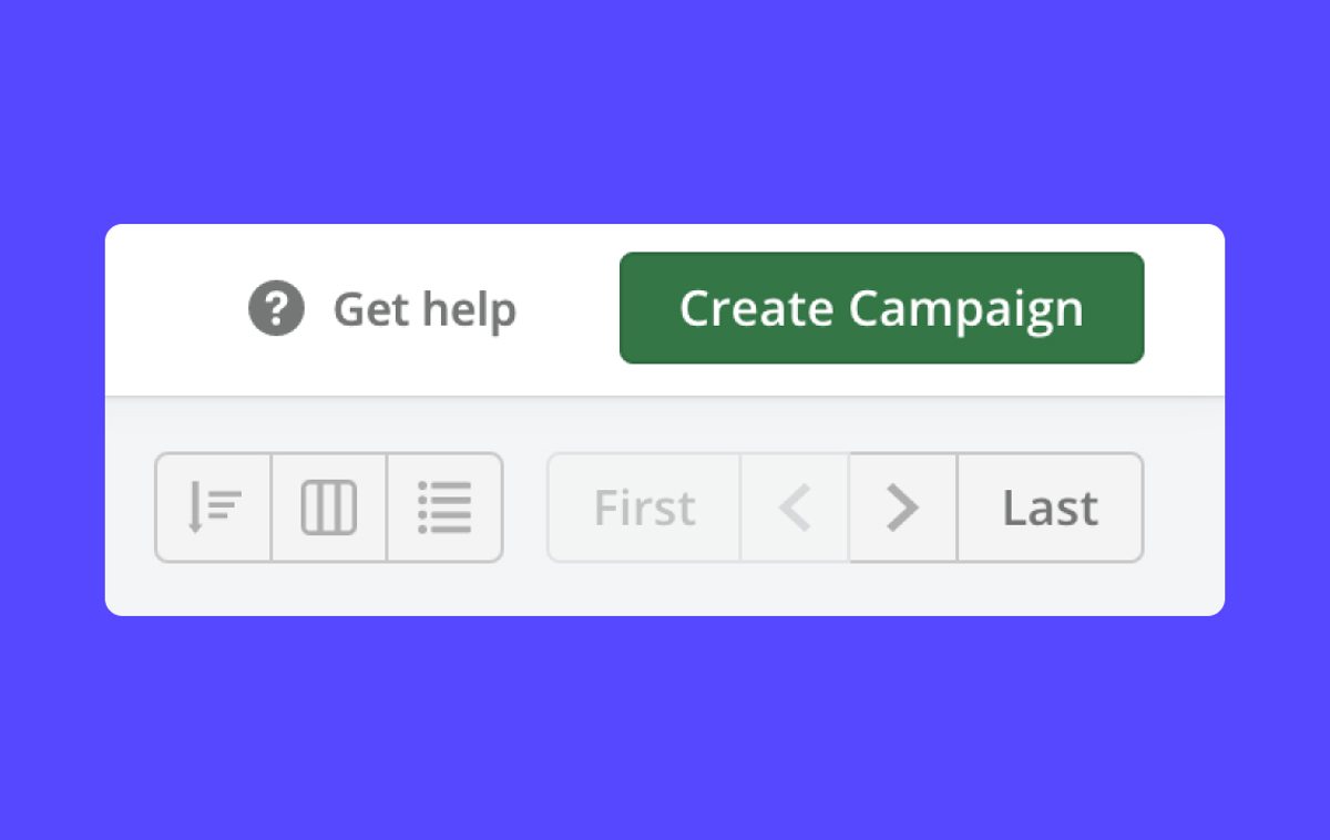 Help: Creating an email Campaign
