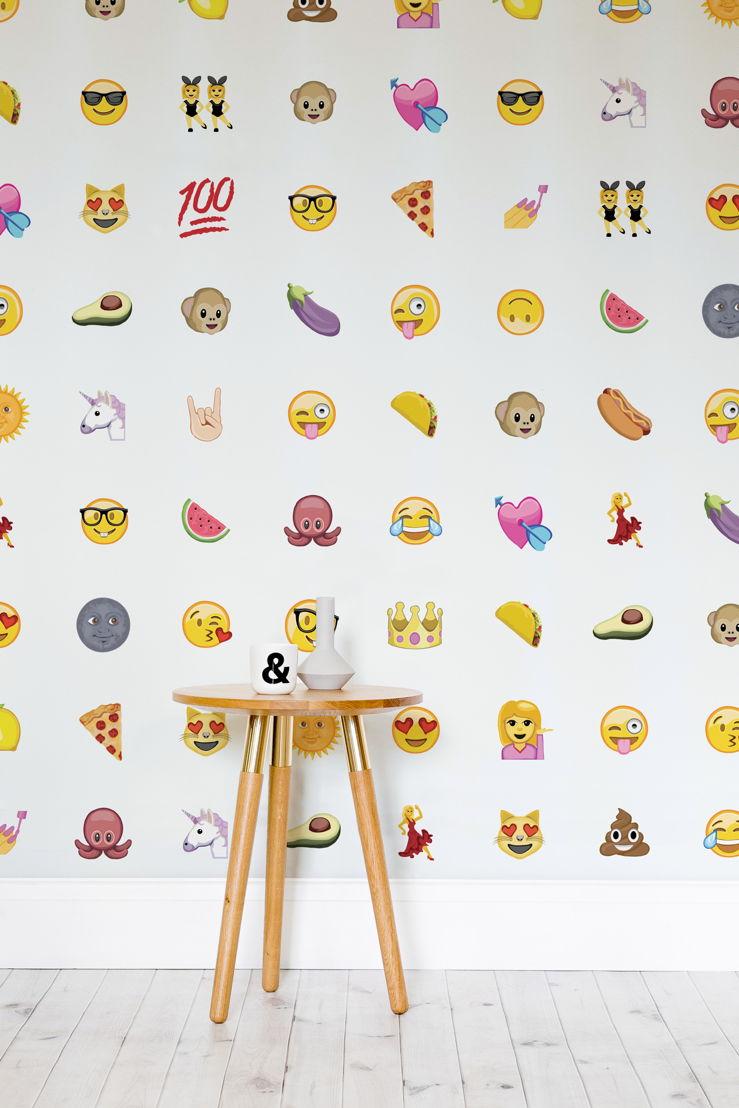 Assorted Emoji Wallpaper