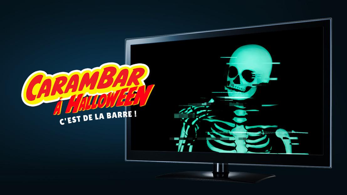 Carambar jette un sort à la télé pour Halloween